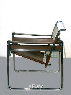 Gavina Wassily Chaise B3 Marcel Breuer 60 50s Design Avec Étiquette