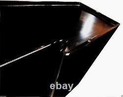 Italien Haute Brillance Piano Lacquer Long Sculptural Credenza Post Cabinet Moderne