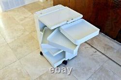 Joe Colombo Vtg MID Century Modern Plastic Boby Cart Organisateur Kartell Trolley