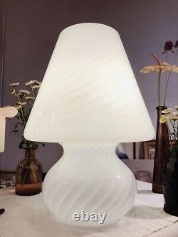 Lampe De Champignon De Murano