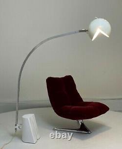 Lampe De Sol Italienne Mal-form Fabio Lenci MID Century Moderne Arco Vintage