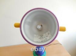 Lampe De Table Italienne Extrêmement Rare (milieu Du Siècle)