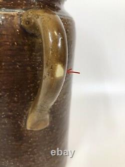 MCM Aldo Londi Rosenthal Netter Bitossi Homme Visage Vase Mi-century Argent Or