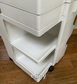 Milieu Du Siècle Moderne Originale Boby Storage Cart Conçu Par Joe Columbo