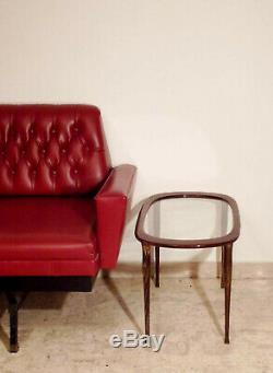 Milieu Du Siècle Table Basse Italienne Des Années 50 Side Ovale Cesare Lacca Ico Parisi Gio Ponti