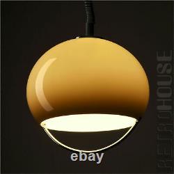 Rare Lamp Pendentif Hanging Light Par Harvey Guzzini Italie Mid-century 60s 70s