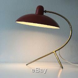 Rare Milieu Du Siècle Italien Table Lampe De Bureau Lumière Stilnovo Arteluce Arredoluce Era