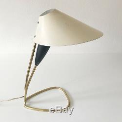 Rare Milieu Du Siècle Italien Table Lampe De Bureau Lumière Stilnovo Arteluce Sarfatti Era