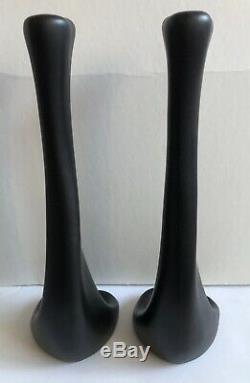 Rare Vintage Pair Elsa Peretti Tiffany Bone Bougie Sticks Italie 1970 14-1 / 2 Ce