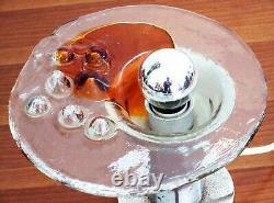 Space Age Lampe De Table Murano Verre Toni Zuccheri Venini Sciolari Mazzega Nason