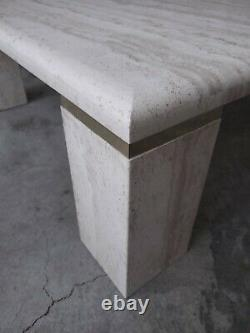 Table Basse Italienne De Travertin De Place De Cru