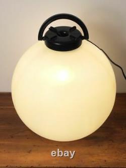 Tama Rouge Isao Hosoe Lampe Pendentif Italien MID Century Modern Space Age1960s/70s