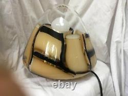 Une Lampe De Table Barovier Et Toso Très Rare. Fabriqué À Murano En Italie. Vers Les Années 1950