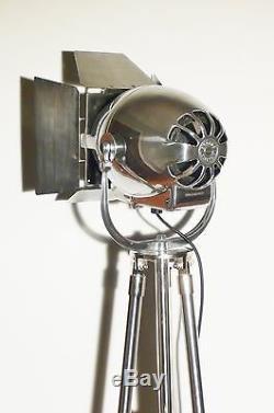 Vintage Théâtre Lumière Art Déco Film Lampadaire Industriel Strand Antique Cinéma