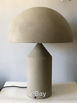 Vintage Vico Magistretti Métal Oluce Atollo Dôme Lampe -italy Italienne Moderne 1977