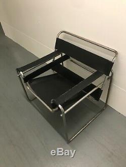Wassily Style Chaises Design Original Par Marcel Breuer Pour Knoll
