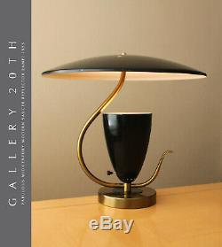 Wow MID Siècle Moderne Saucer Reflecteur Lampe! 1950 Atomic Ufo Googie Vtg Retro